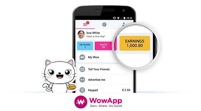 Aplikasi WowApp. Satu Lagi Aplikasi Duit Percuma