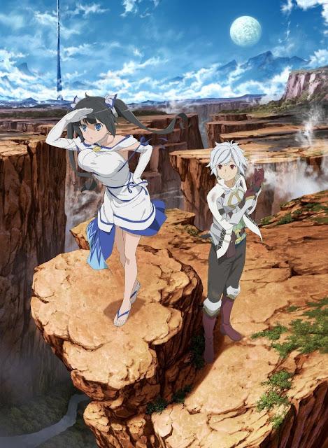 Resmi Anime Danmachi Mendapat Season 2 Dan Adaptasi Movie!!!