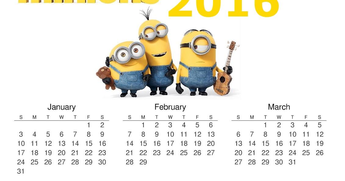 free december calendar 2015