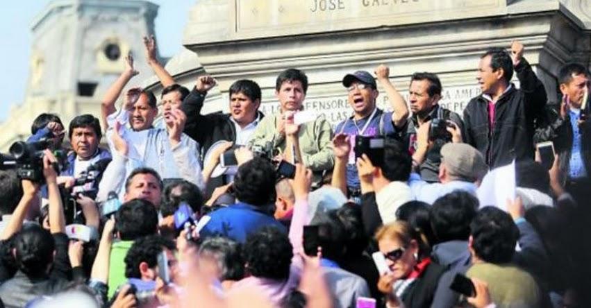 Suspenden huelga pero piden que no haya sanciones