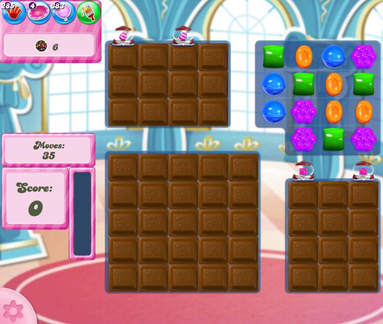 Candy Crush Saga level 2748
