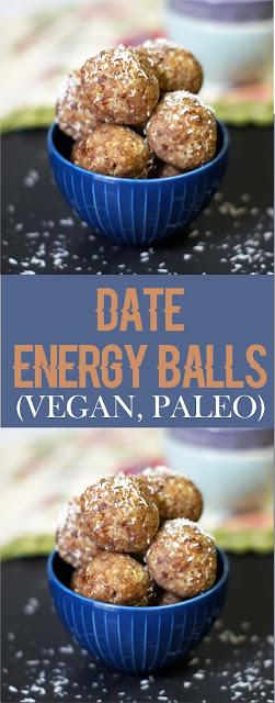 DATE ENERGY BALLS (VEGAN, PALEO)