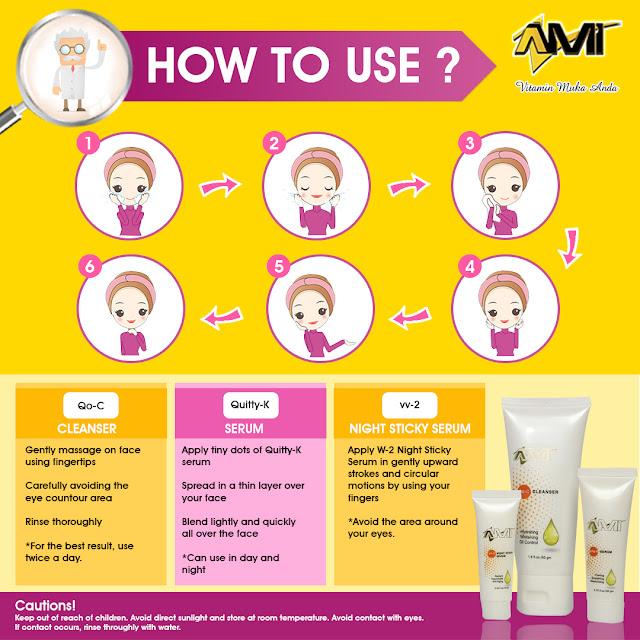 AMI Vitamin Skincare Terbaik Untuk Cantik