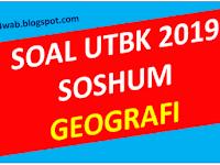 Soal Asli UTBK 2019 Geografi dan Pembahasan
