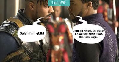 10 Meme 'Black Panther' Ini Kocaknya Bikin Ngakak Nggak Karuan