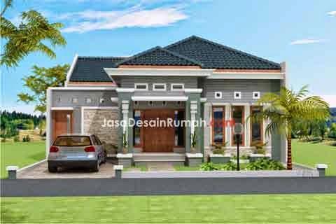 10 contoh gambar desain rumah mewah | desain rumah