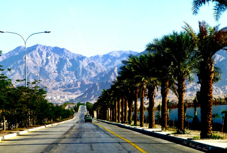Driving through Aqaba en route to ancient Petra, Jordan | Ms. Toody Goo Shoes
