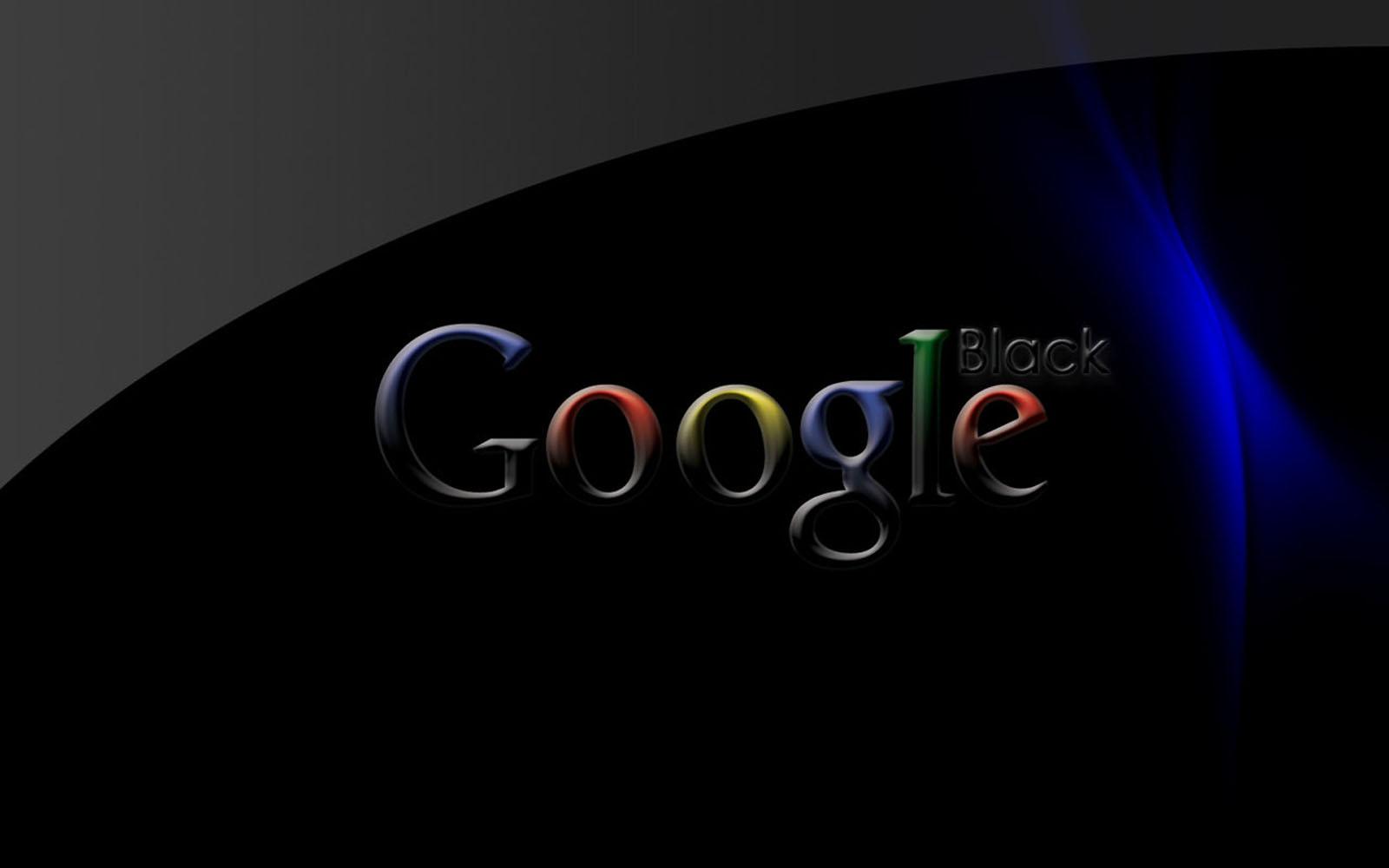 wallpapers: Black Google Wallpapers Google