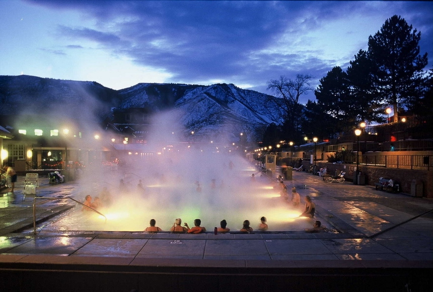 20. Glenwood Hot Springs, Colorado