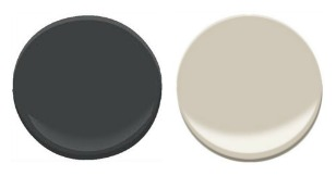 Sherwin-Williams Accessible Beige and Iron Ore
