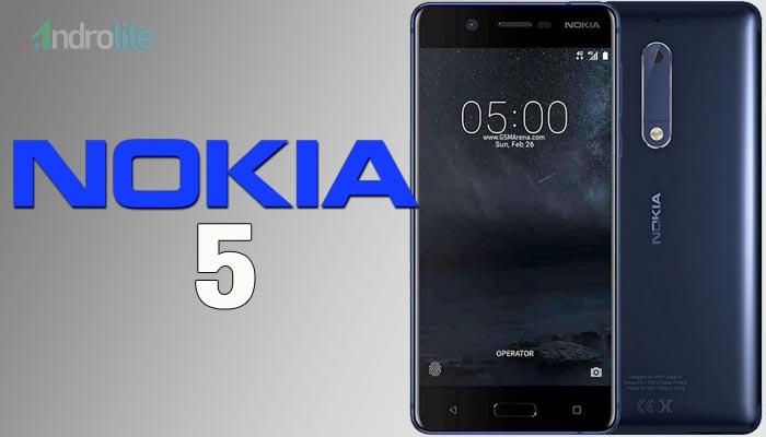 Spesifikasi dan Harga Terbaru Nokia 5 Android
