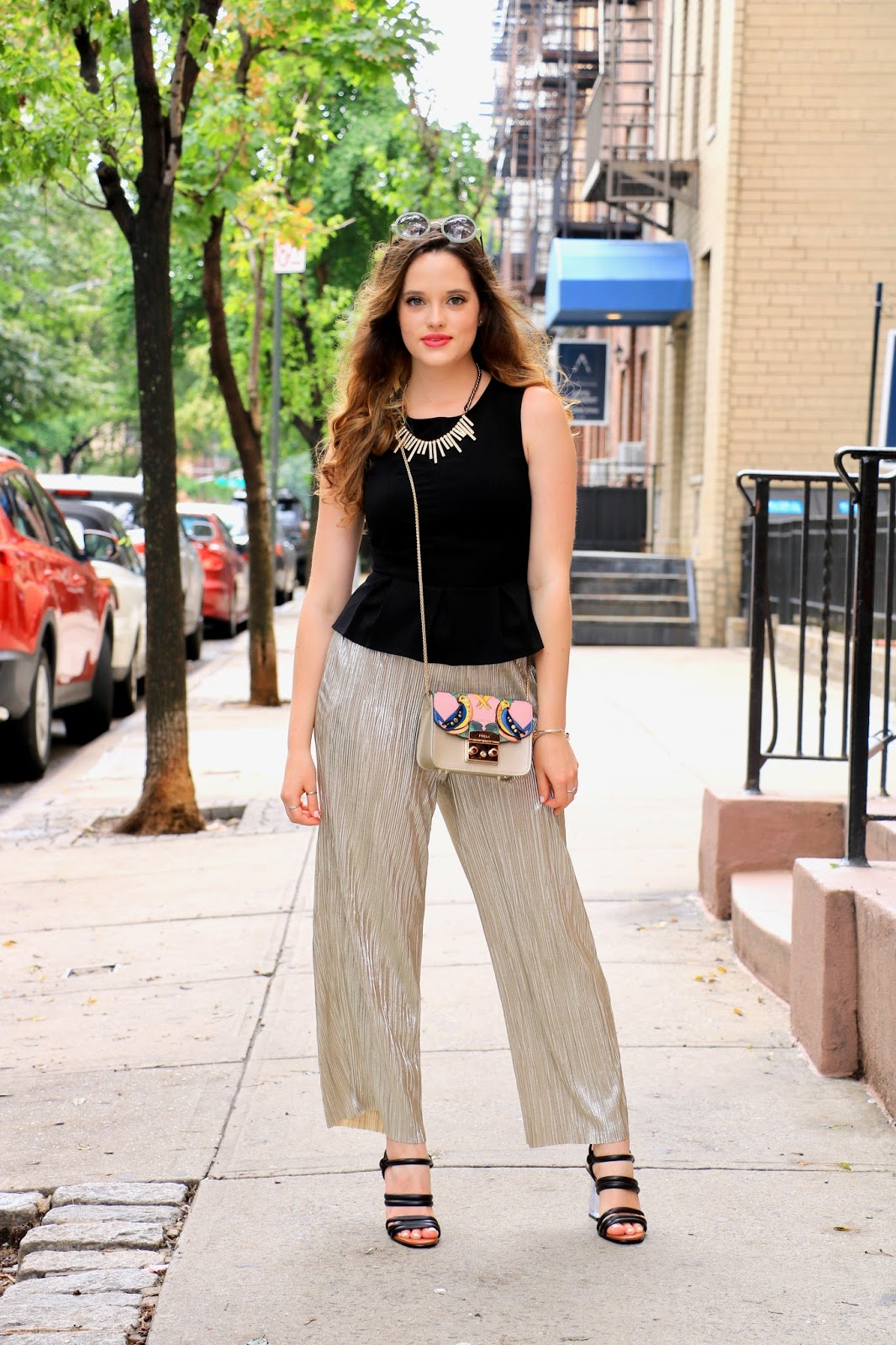 nyc fashion blogger Kathleen Harper on the streets of new york city