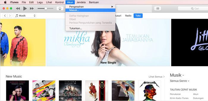 Cara Mudah Membuat ID Apple Untuk Digunakan Pada iTunes Store Terbaru