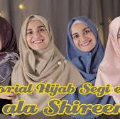 Tutorial Hijab Ala Shireen Bikin Kamu Tampil Cantik Saat Lebaran