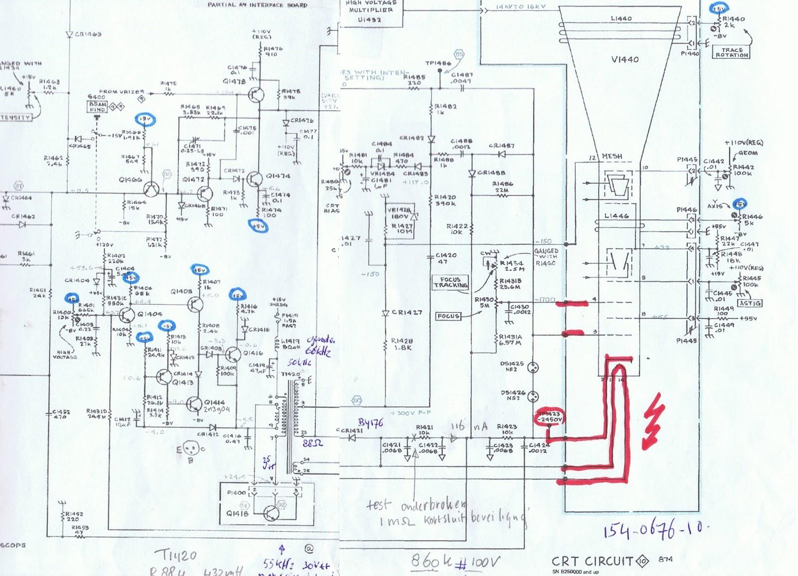 Tectronix 465 Last Update