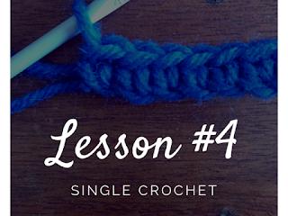 crochet course single crochet