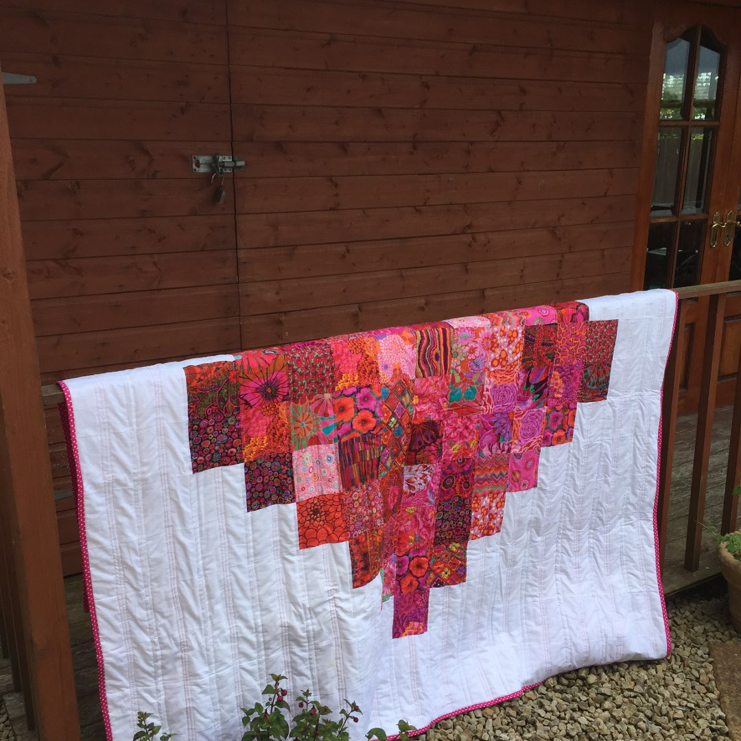 Midget gem quilts poetry and sheds for Garden shed quilting