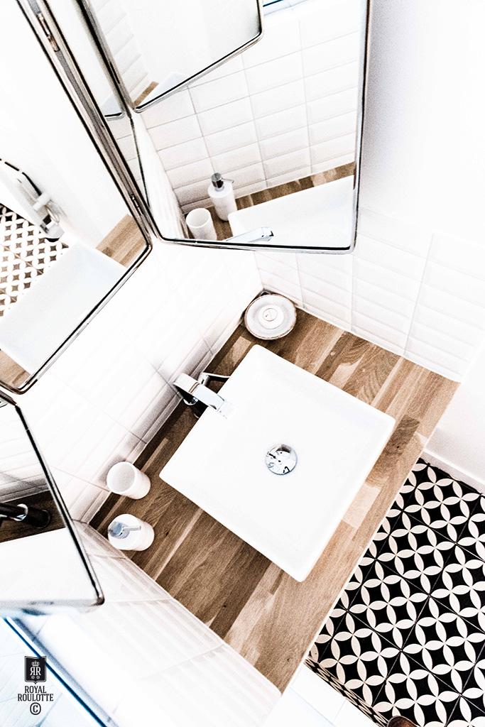 Un appartamento di 55 mq a Parigi firmato Royal Roulotte bagno