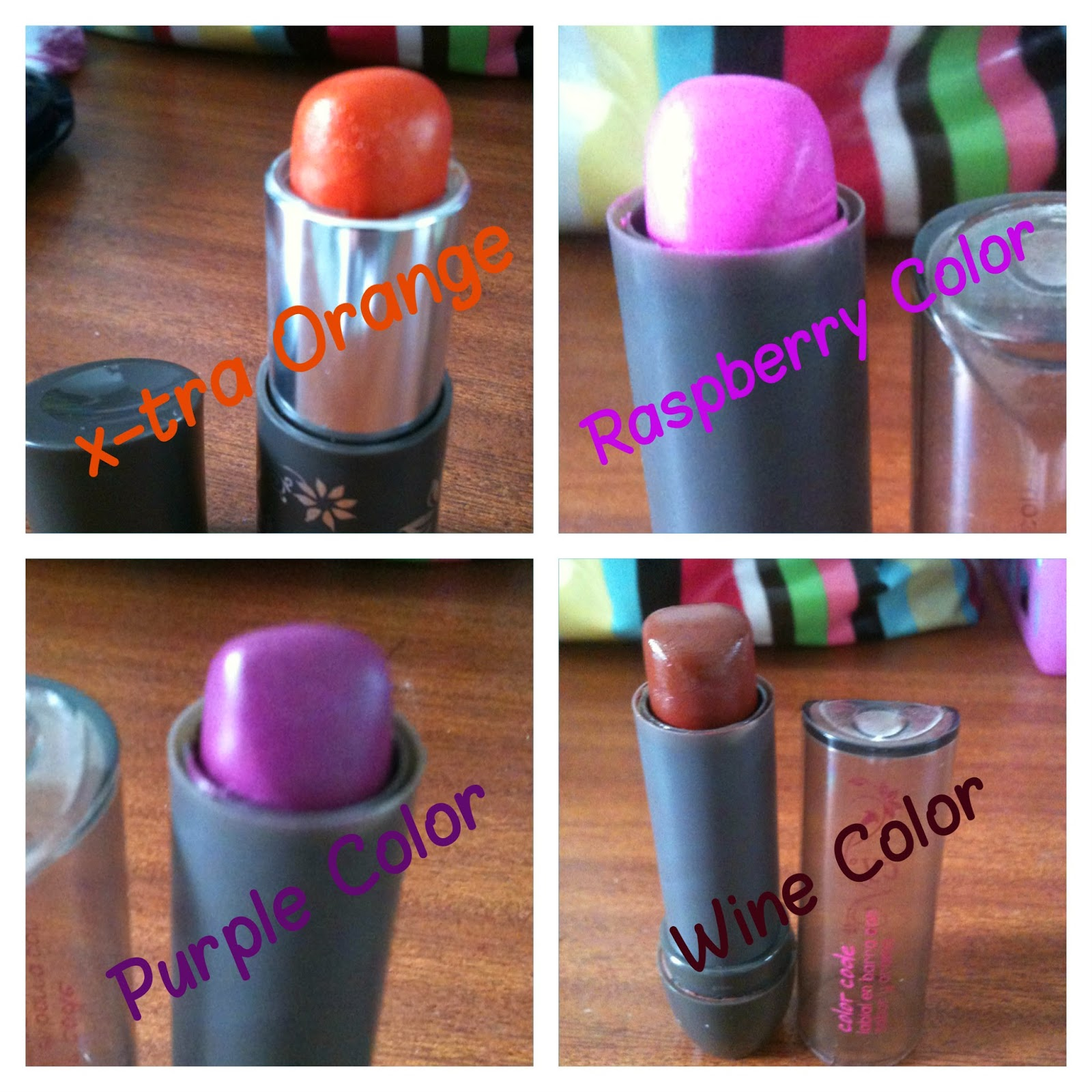 Lick my Lipstick : Cyzone Color Code and X-tra time Lipsticks