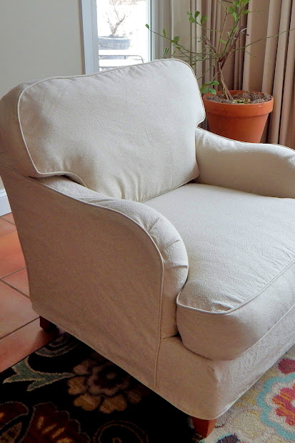 Barrel Club Chair Slipcovers