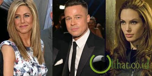 Jennifer Aniston - Brad Pitt - Angelina Jolie