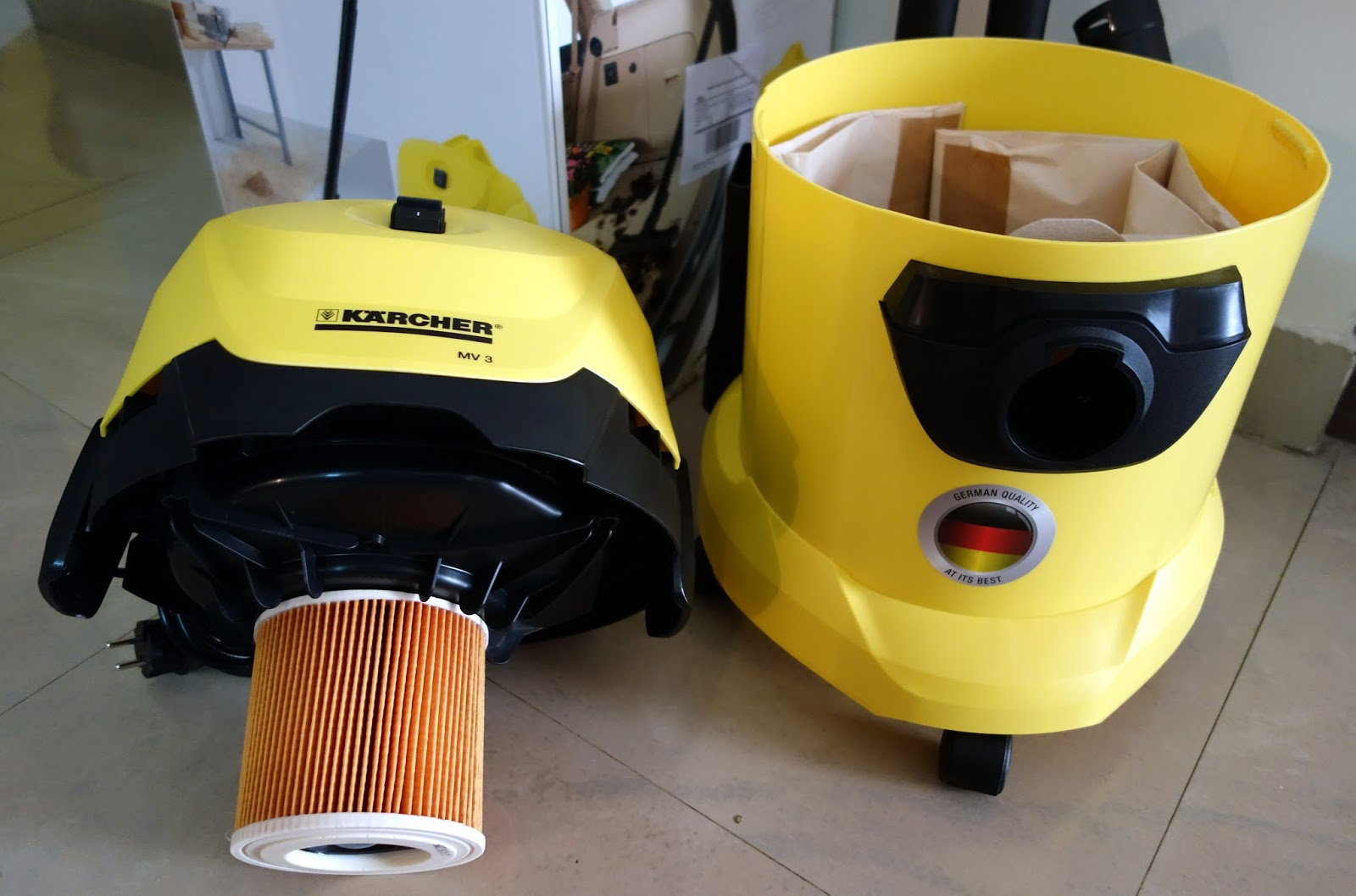 Karcher Mv3 Vacuum Cleaner Review Do The Diy