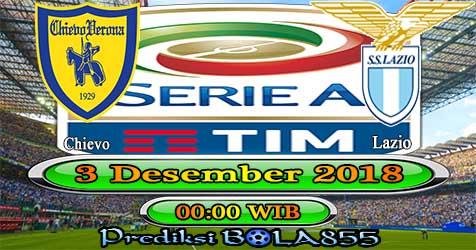 Prediksi Bola855 Chievo vs Lazio 3 Desember 2018