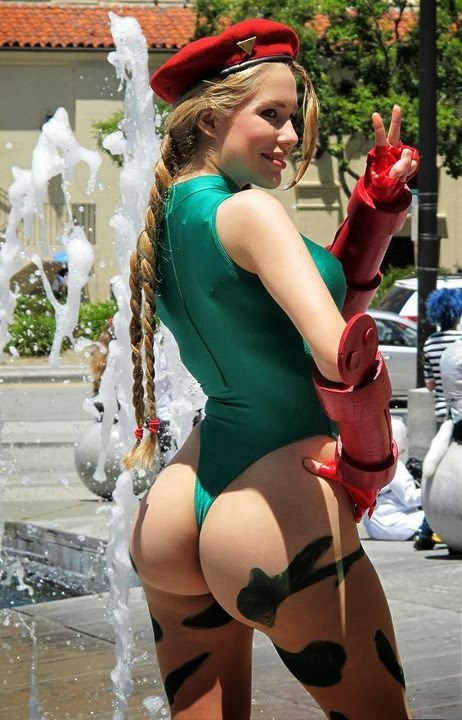 Big Culo Day 2014: Cammy Cosplay