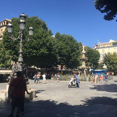 Plaza Bib-Rambla. Granada
