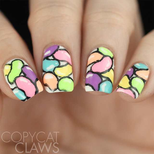 Jelly Bean Nail Art