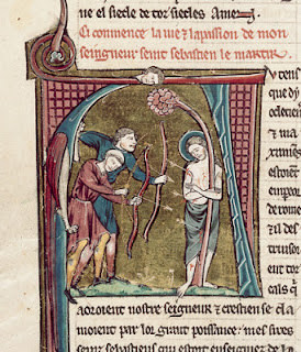 Image result for saint sebastian  medieval