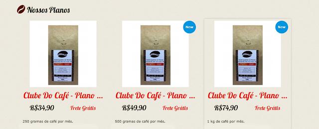 graocafe.com.br,resenha Clube do Café,café 100% Arábica