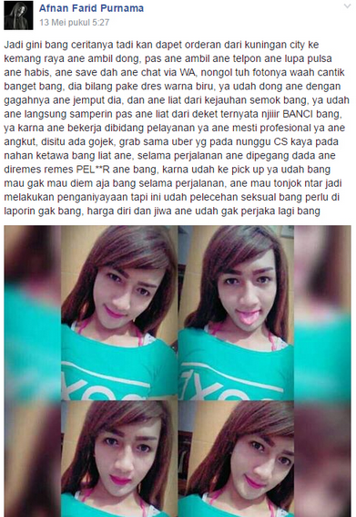 Kisah Ojek Online Angkut 'Cewek' Cantik Ini Berakhir Hilangnya Perjaka, Kocak Parah!