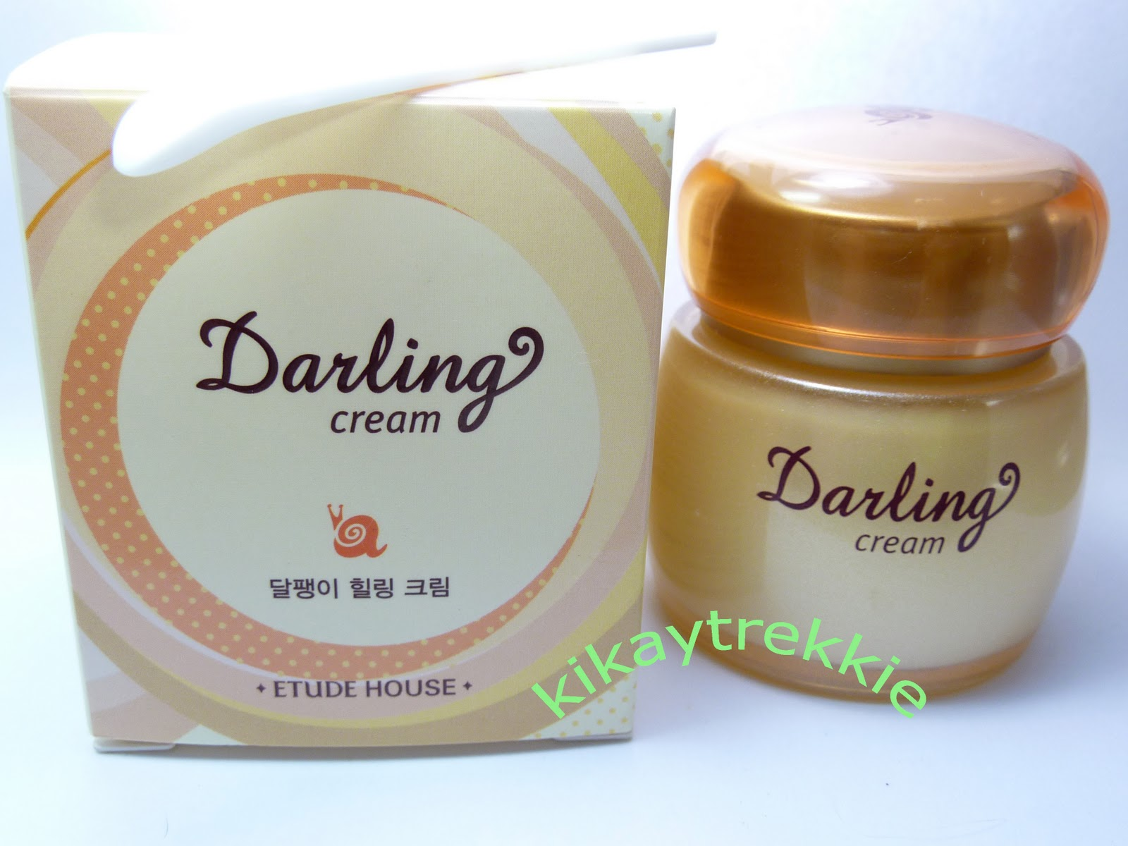 Kikay Trekkie Review Etude House Darling Snail Cream Tony Moly Berrianne Addendum This Is P119800 Healing 50ml It Has 73 Mucin Information Based On Website