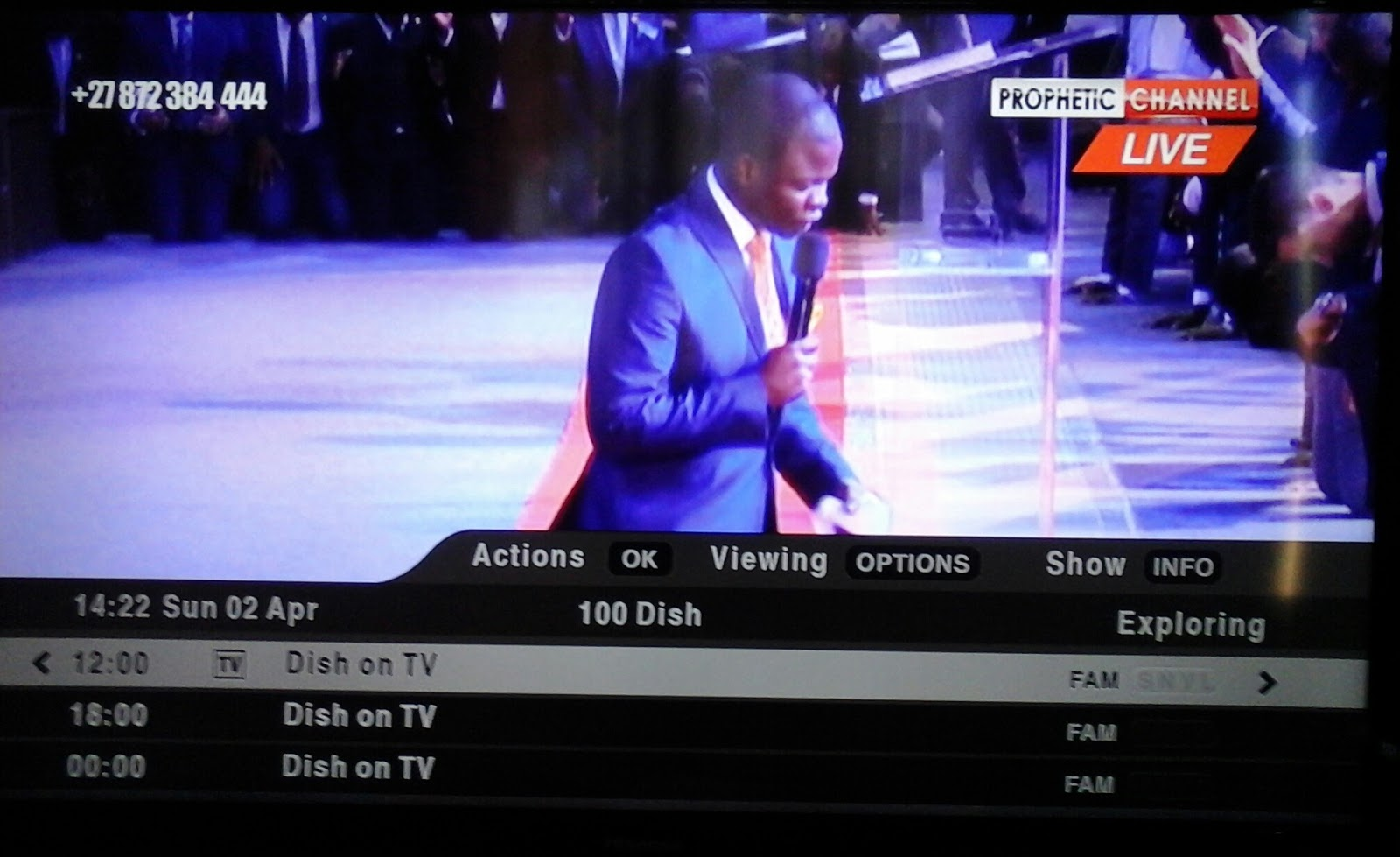 Public channels ( Dstv )