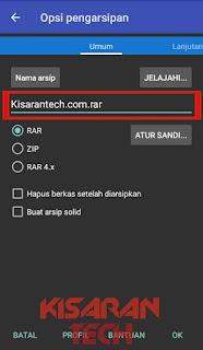 Cara Memberi Password File Zip dan Rar Di Android
