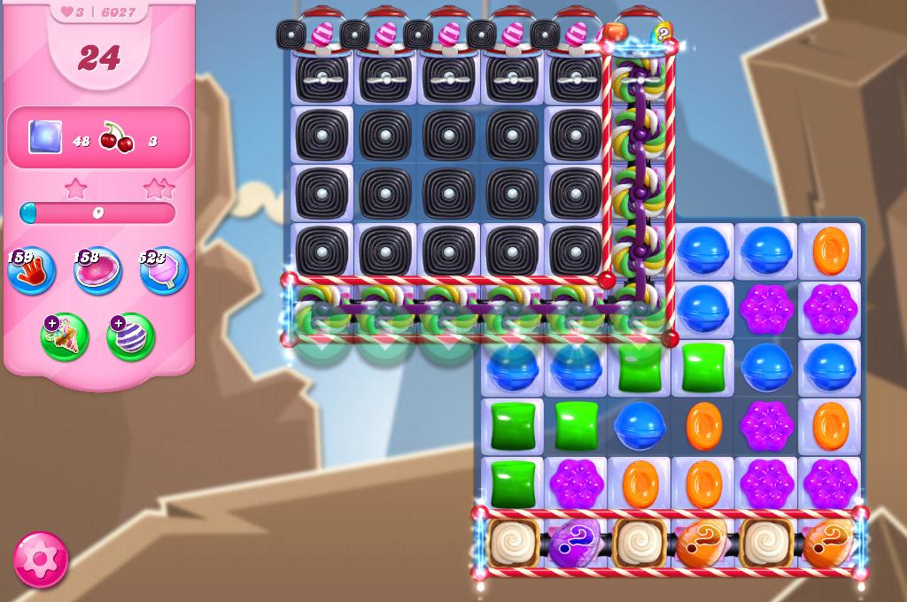 Candy Crush Saga level 6027
