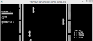 game balap  codeblocks C++ by zlearn