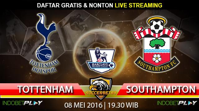Prediksi Tottenham vs Southampton 08 Mei 2016 (Liga Inggris)