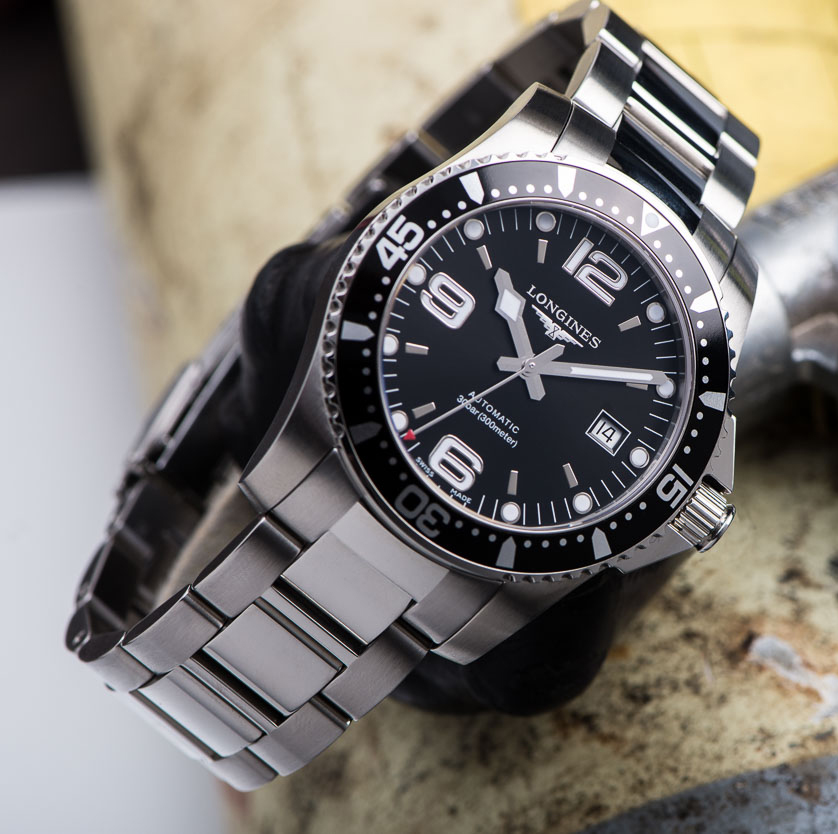 Observations in an undemocratic world: The Longines HydroConquest