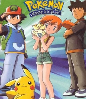Pokemon Temporada 4 Los Campeones De La Liga Johto Latino