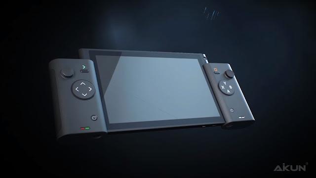 Um tablet com controles acoplados do lado e tela táctil está a venda na China a alguns meses e é similar ao Nintendo Switch.