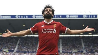 محمد صلاح يحصل علي أفضل لاعب فى ليفربول