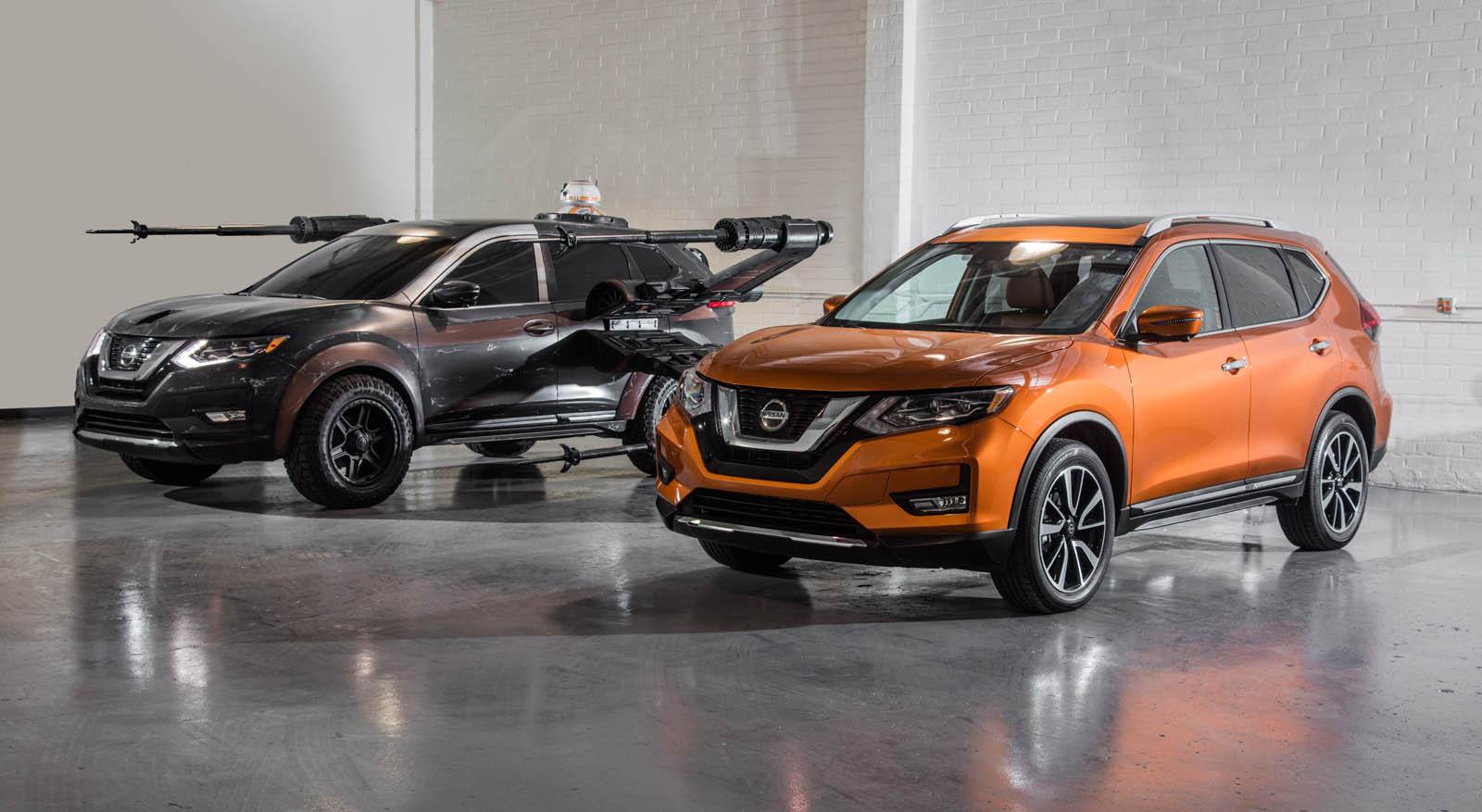 Car Wars: Nissan Gets Into The Star Wars Spirit With Six 'Last Jedi