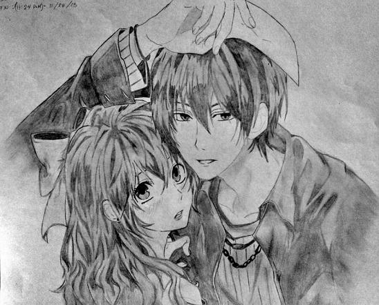 Imagenes Para Dibujar De Amor En Anime Para Dedicar Tips De