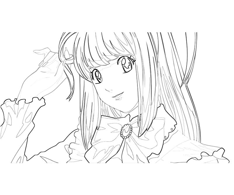 deathnote coloring pages - photo#33