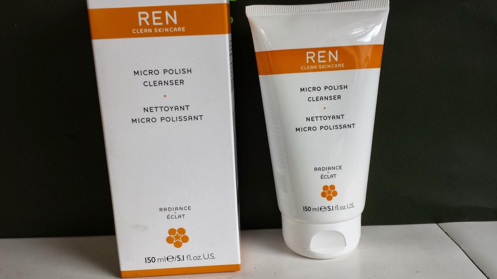 REN Micro Polish Cleanser - www.modenmakeup.com