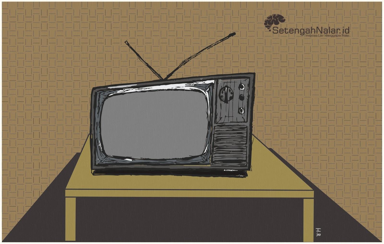 Nasib TV Hitam Putih