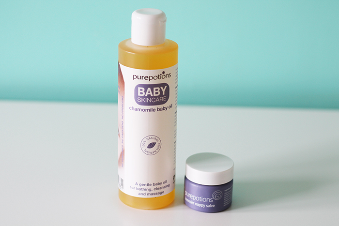Purepotions Baby Skincare Range