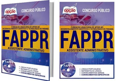 Apostila FAPPR Fundação Araucária 2017